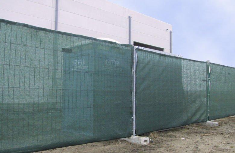 T&F Netten Net voor bouwwerfhek