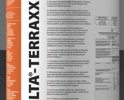T&F DELTA TERRAXX MAT