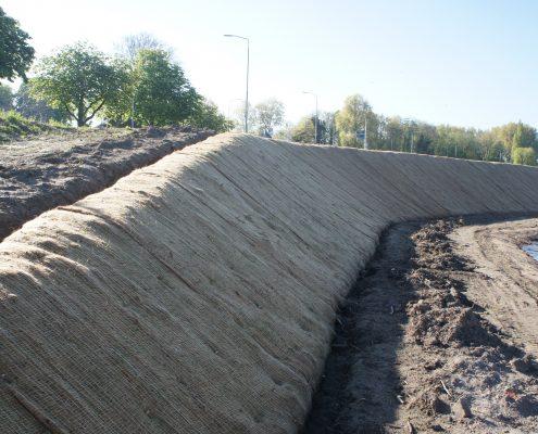 Anti-erosiemat : IGG vezelmat