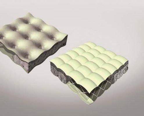 T&F geotextielen: Betonmatras