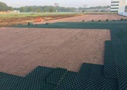 Golpla® kunststof gras, grint- en paddockplaten TU Delft